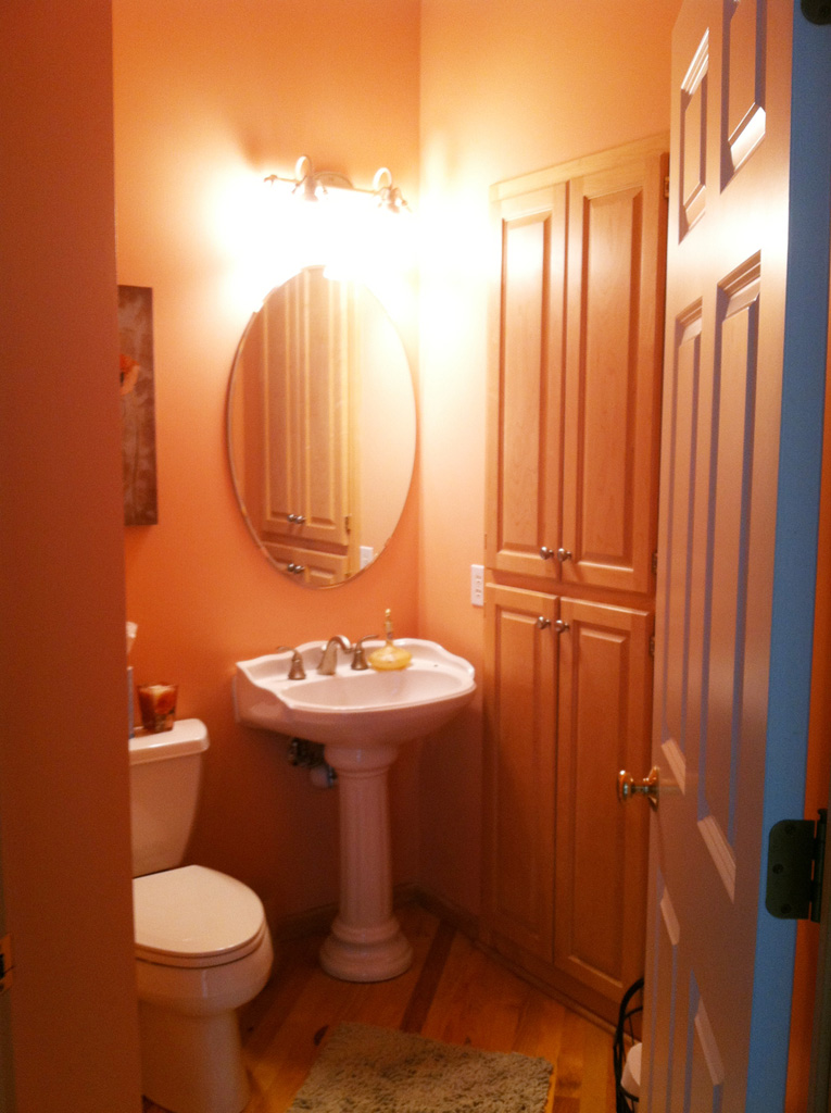 Powder Room before photo