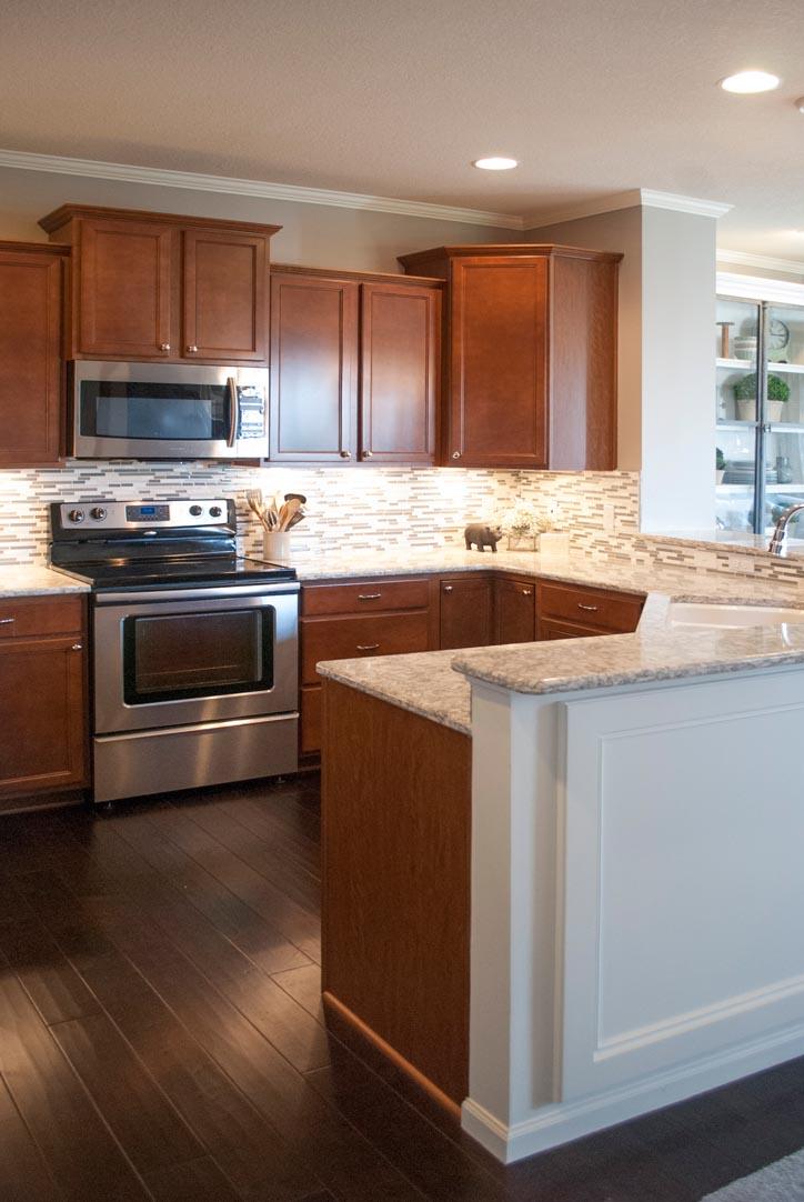 After - Beautiful Bright Kitchen