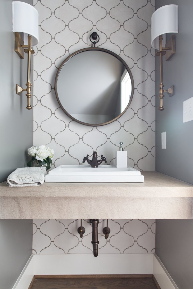 INSPIRATION} Spruce Up Your Powder Room - Interior Impressions