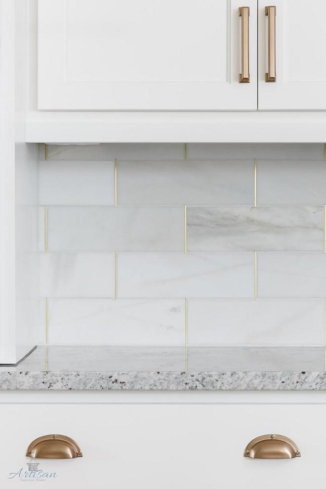 Kitchen Backsplash Kitchen Backsplash Is Honed Marble By The Tile