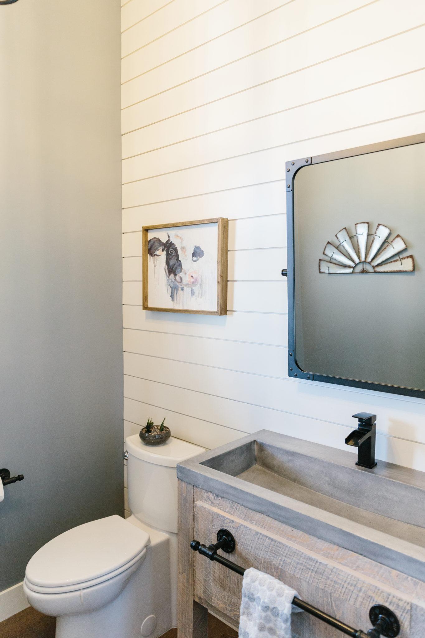 Family Fun Farmhouse Powder Room 2 Interior Impressions